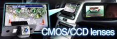 CMOS and CCD BMW reverse parking cameras